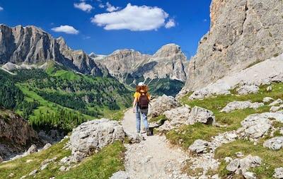 Dolomiti - hiking in Badia Valley