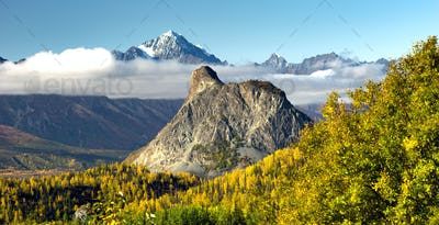 Chugach Mountains Matanuska River Valley Alaska United States