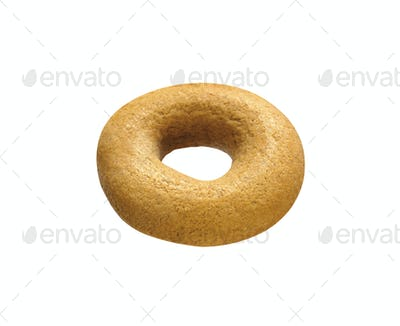Bagel isolated on a white background