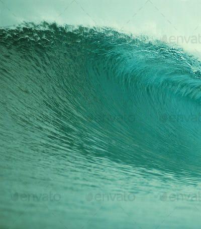 Green Ocean Wave