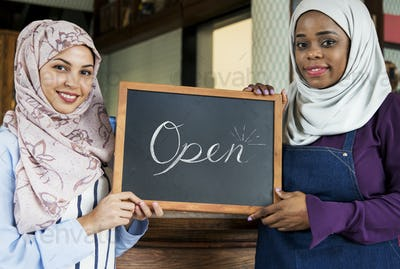 Islamic women small business partnership
