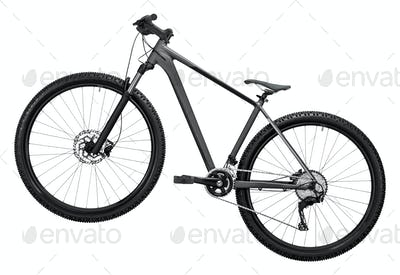 bicycle isolated on a white background