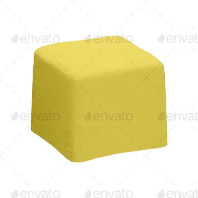footstool isolated on white background