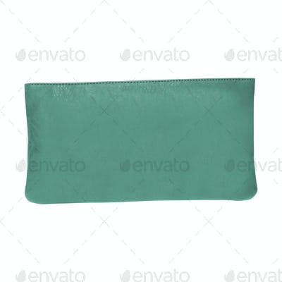 clutch bag isolated on white