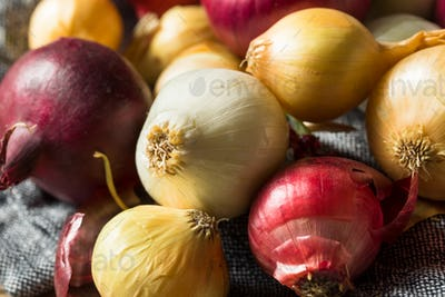 Raw Organic Assorted Pearl Onions
