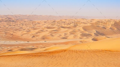 Travelling in the Empty Quarter