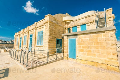 Barracks in Fort Saint Angelo, Birgu, Malta