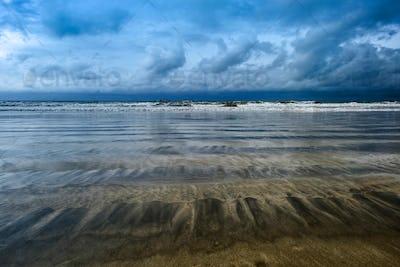 Panorama Seascapes, beach in jimbaran Bali, Indonesia