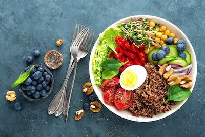 Buddha bowl dinner