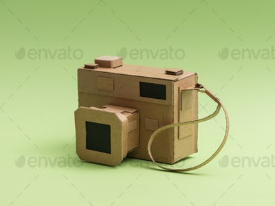 Creative cardboard camera