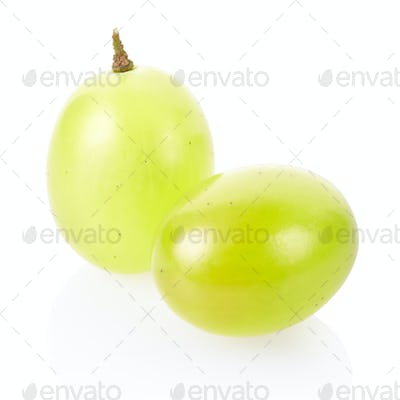 Green grape closeup