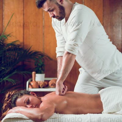 Relaxing Back Massage