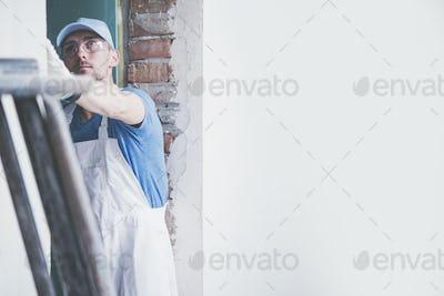 Caucasian Male Contractor