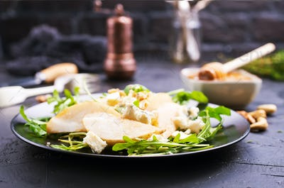 pear with cheese