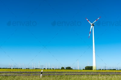 Renewable energy plants seen in Germany