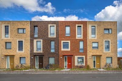 Four Modern Social housing apartments