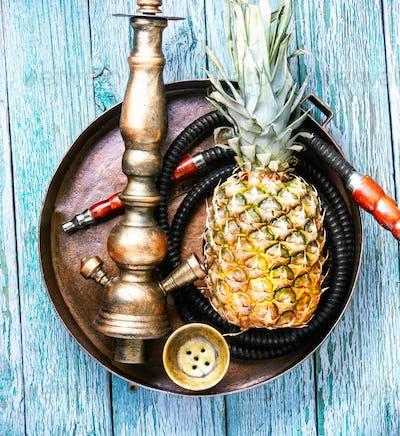 Stylish pineapple shisha