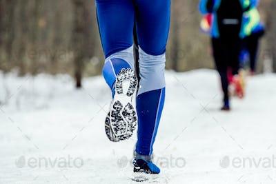 feet man runner