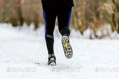 legs athlete runner