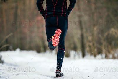 male runner run