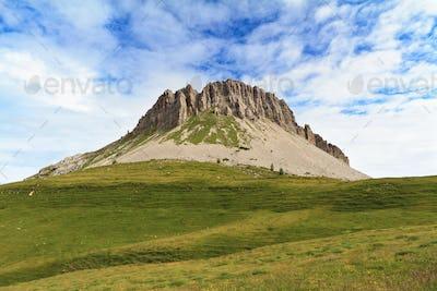 Castellazzo mount, Italian Dolomites