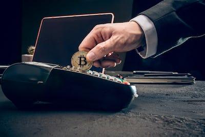 Bitcoin, credit card and POS-terminal