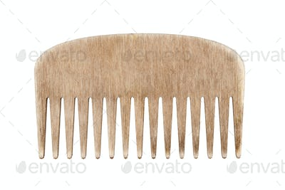 Wooden comb hairbrush