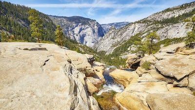 River in the Yosemite National Park, California, USA.