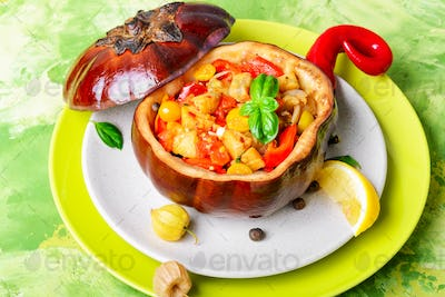 Dietary dish from vegetables
