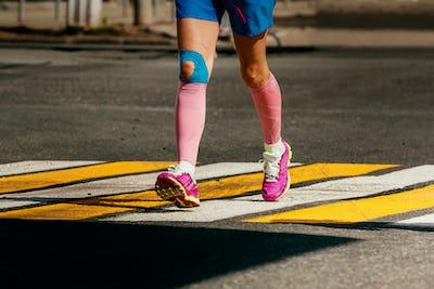 legs woman runner