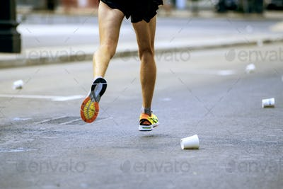 legs runner athlete running