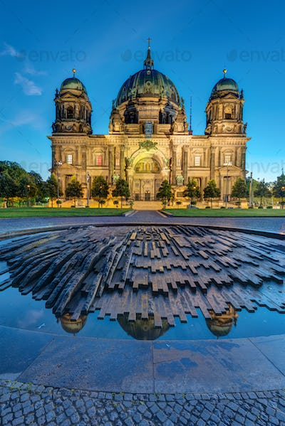 The Dom in Berlin before sunrise