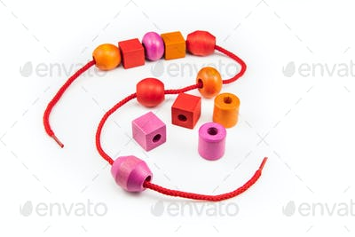 Colorful Wooden Beads Necklace