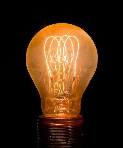 Vintage Old Light Bulb