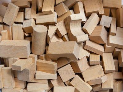 Construction Bricks of Wood