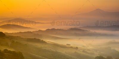 Tuscan Hills Sunrise