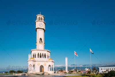 Batumi, Adjara, Georgia. Chacha Tower Is Local Landmark Attracti