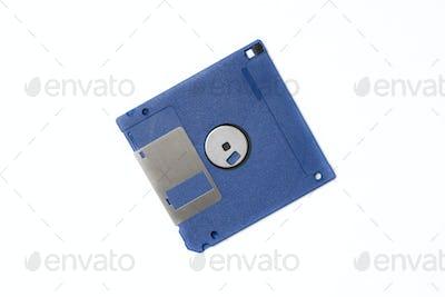 Blue diskette