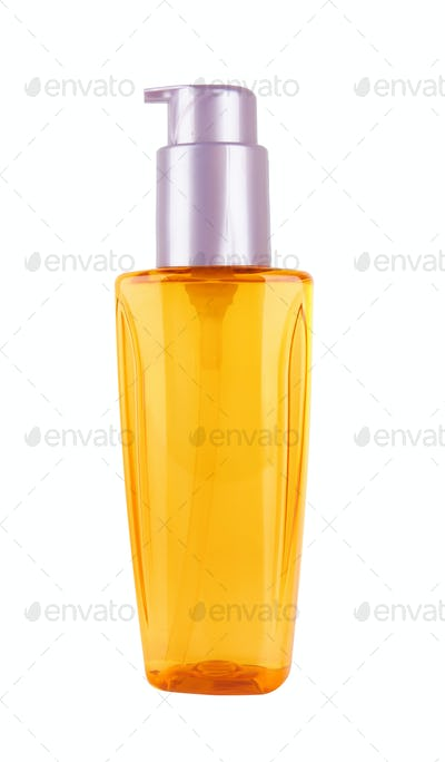 bottle isolated over white