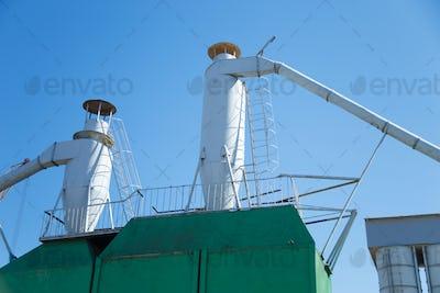 Dust purification cyclone air vortex separation separator