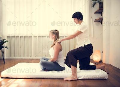Spa salon therapy treatment