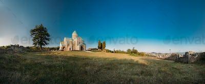 Kutaisi, Georgia. Panorama Of Bagrati Cathedral. UNESCO World He