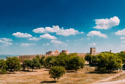 Medieval Fortress Akkerman In Belgorod-Dniester, Ukraine. Akkerm