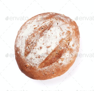 Loaf of crusty bread