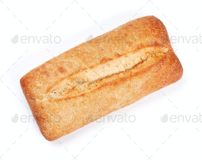 Loaf of crusty ciabatta bread