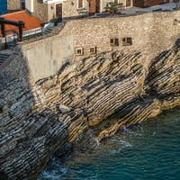Old medieval fortress in Petrovac