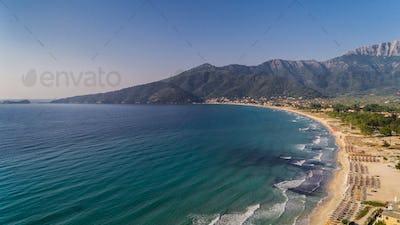 Psili Ammos beach, Thassos island, Greece