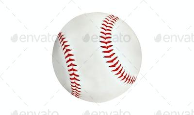 new baseball isolated on white