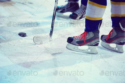 ice hockey sport players
