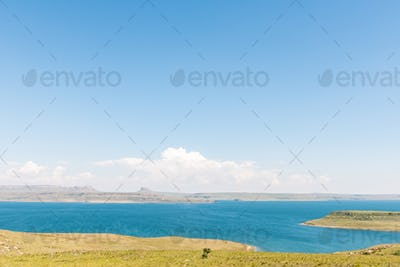 Sterkfontein Dam in the Free State Province